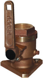 Groco Bv-2500 Bronze Full-flow 2-1/2 Flanged Ball-type Seacock Boat Marine