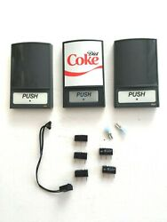 Diet Coke Fountain Machine Dispenser Covers Lot Of 3 W Components New Free Ship