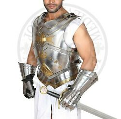 Medieval Aragorn Muscle Body Armor Cuirass Knight Breastplate
