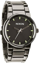 Watch Man Nixon Cannon A1601885 Of Stainless Steel Grey