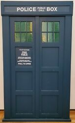 TARDIS video  vhs  paperback cabinet [Doctor Who collectible]