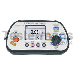 Kewtech Kt63+ 18th Edition 6 In 1 Mft Multifunction Tester Rcd Loop And More