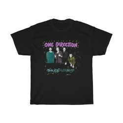 One Direction - On the Road Again Tour 2015 Black T-Shirt Mens USA S-4XL V1285 $16.14