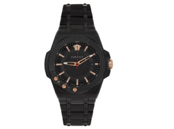Versace Black Chain Reaction Watch Vedy00719 100 Authentic