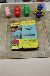 Vintage Cootie Game 1972 Schaper 200 B Model Box Complete With All Parts Fun
