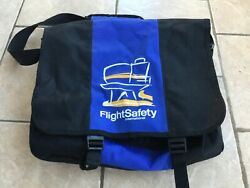 Flightsafety International Messenger Bag 16.5andrdquo X 12andrdquo With Strap