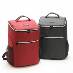Outdoor Camping Picnic Bag Basket Cooler Box Ice Box Children#x27;s School Lunch Bag $43.69