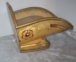 Antique English Rudduck And Co. Shop Fitters Toleware Metal Merchandise Display