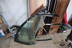 Audi A3 8p Sportback Doors Front Right Window Frame Incl. Disc And Cable