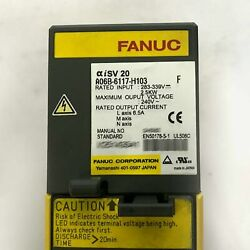1pcs Used Fanuc A06b-6117-h103 Servo Amplifier Tested In Good Conditionqw