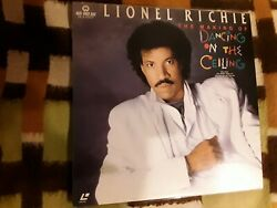 Lionel Richie ' The Making Of Dancing On The Ceiling ' Japan Laserdisc
