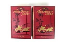The North American Indians By George Catlin 1926 2 Volumes W/ Illustrations