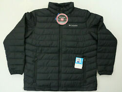 Columbia Thermal Coil Insulated Jacket Men's LARGE Black