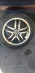 Set 4andnbsp Rims And Tires 225/50 R17 Used Most New 2 Month Used Tires