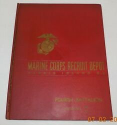Marine Corps Recruit Depot Parris Island S.c. Yearbook 4th Battalion 1954
