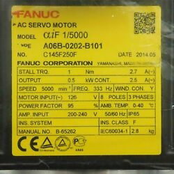 1pcs Used For Fanuc A06b-0202-b101 Servo Motor Tested In Good Conditionqw