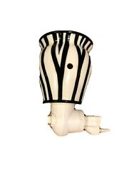 Authentic Scentsy Warmer Plug In Zebra Very Good Condition