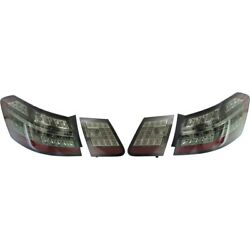 Tail Light For 2010-2013 Mercedes-benz E550 Set Of 4 Smoked Lens
