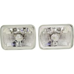 Headlight Lamp Left-and-right For Chevy Suburban Sealed Beam Lh And Rh C1500 Acura