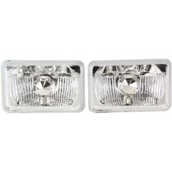 Headlight Lamp Left-and-right For Chevy Le Sabre Somerset De Ville Suburban