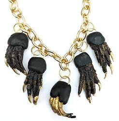 Alligator Feet Lucky Necklace Handmade By Gay Isber Gift Boxed Usa Gators Lsu Fl