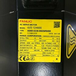 1pcs Used For Fanuc A06b-0238-b605s000 Servo Motor Tested In Good Conditionqw