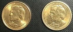 2008 P And D Andrew Johnson Pres. Coins 17th Pres Uncirculated And Circnice