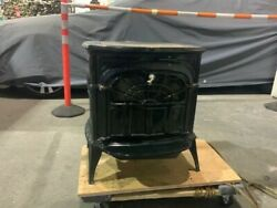 Wood burning stove Vermont Castings Intrepid II cast iron small wood stove $1500.00