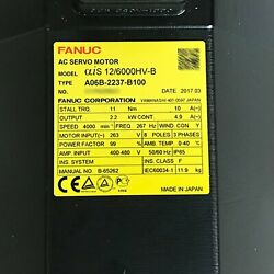1pcs Used For Fanuc A06b-0237-b100 Servo Motor Tested In Good Conditionqw