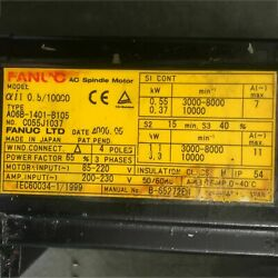 1pcs Used For Fanuc A06b-1401-b105 Servo Motor Tested In Good Conditionqw