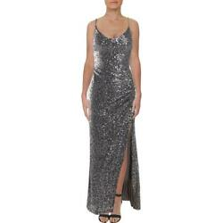 Betsy amp; Adam Womens Sequined Gathered Evening Formal Dress Gown BHFO 5282 $24.99