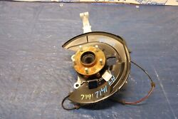 2018 Nissan 370z Nismo Edition Vq37 Oem Lh Driver Front Spindle And Hub 7141