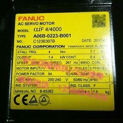 1pcs Used For Fanuc A06b-0223-b001 Servo Motor Tested In Good Conditionqw