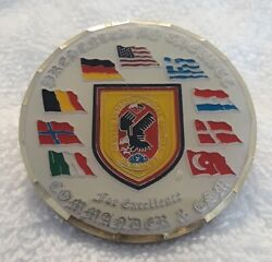 Authentic Special Forces Istc Center Sof Pfullendorf Germany Rare Challenge Coin