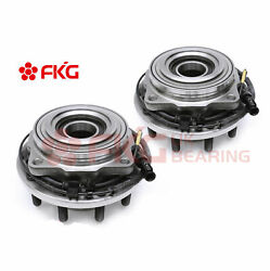 2 Front Wheel Hub Bearing And Assembly W/abs 4wd Drw For Ford F-450 F-550 515083