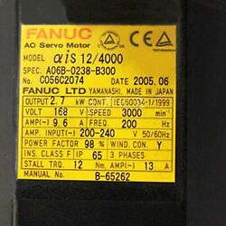 1pcs Used For Fanuc A06b-0238-b300 Servo Motor Tested In Good Conditionqw