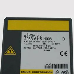 1pcs Used Fanuc A06b-6115-h006 Power Supply Module Tested In Good Conditionqw
