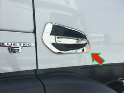 Mercedes Actros Mp4/mp5 Door Handle Covers Super Polished Stainless Steel 4 Pcs.