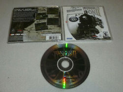 Sega Dreamcast Game Railroad Tycoon Ii 2 W Case And Manual Complete Gold Edition