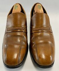 Vintage Florsheim Men's Loafers 10.5 D Cork Brown Model 31285 60's-70's