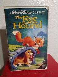 Collectible Walt Disney Home Movie 🎥the Fox And The Hound Vhs 1994 📼 Tape