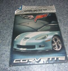Brand New Corvette Stretchable Fabric Book Cover For Large Books Rescue Charity