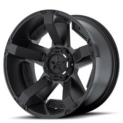 20 Inch Matte Black Wheel Rim Lifted Chevy Silverado 2500 3500 Gmc Sierra 20x12