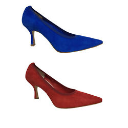 Upper Class Court Shoes Woman Suede With Finished In Elastic In Tone L211