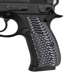 Cool Hand G10 Grips For Cz 75/85 Compact Cz P-01 P100 C100 T100 Pcr Spc-n1