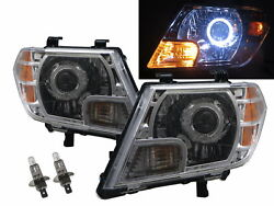 Frontier D40 Mk2 09-17 Guide Led Angel-eye Feux Avant Phare Ch For Nissan Lhd