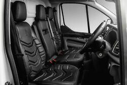 Fort Transit Custom Leather Interior - Blade Design From Sterling Automotive