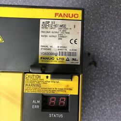 1pcs Used Fanuc A06b-6141-h011h580 Servo Amplifier Tested In Good Conditionqw