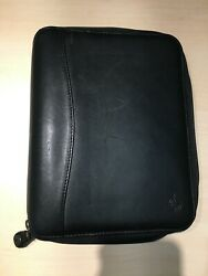Franklin Covey LEATHER Classic  SpaceMaker Planner Binder