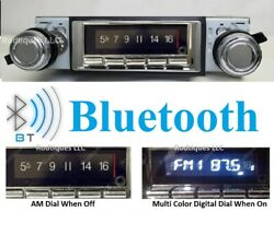 1968-1972 Ford Pick Up Truck Bluetooth Stereo Radio Multi Color Display 740